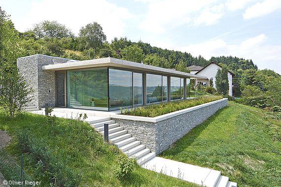 60 best hanghaus hillside house images on Pinterest Modern homes