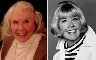 Today and Yesterday Doris Day...I've always loved her music, movies and her love of animals...truly a beautiful person!