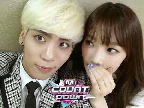 Taeyeon & SHINee Jonghyun
