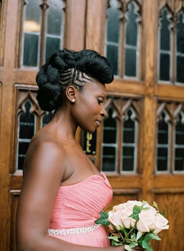 75 best Natural Bridal Styles images on Pinterest | Natural hair ...
