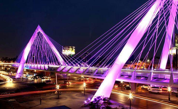 Matute Remus Bridge in Colonia Chapalita --Guadalajara Mexico #Matute Remus Bridge # Guadalajara #Colonia Chapalita