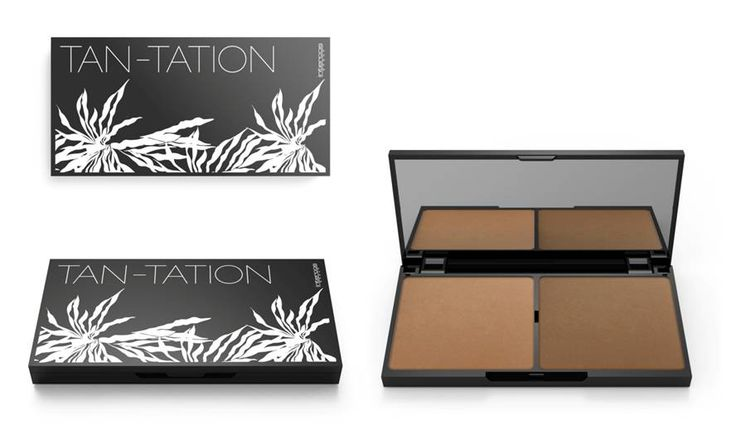 TAN-TATION  #SCULPTINGOBSESSION  #BEAUTYTRICKS  #FACE  #PLASTICPALETTE