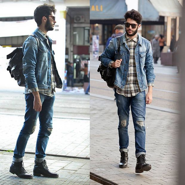 urban men Denim Jacket for Men , A Must Have streetstyle fashion  fashionformen