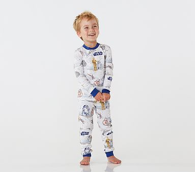 Star Wars Droid Cotton Tight Fit Pajamas In 2020 Star