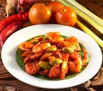 Balado udang @Sari Ratu Authentic Nasi Padang...
