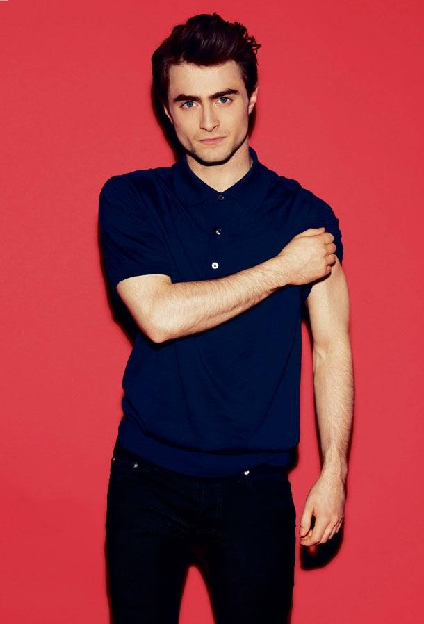 Daniel Radcliffe - is growing up to be a fine gentleman. Mmmhmm.
