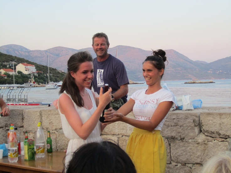 Another prize winer on the Croatia 2012 August flotilla