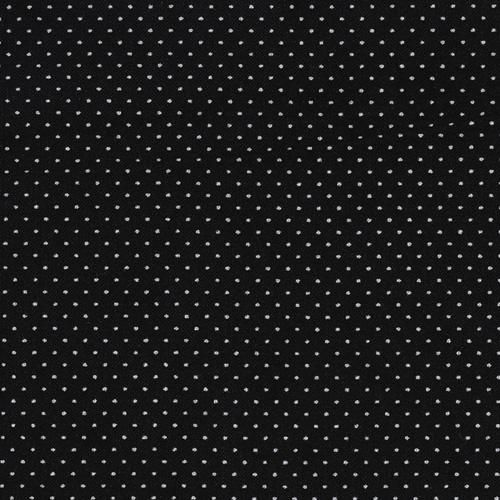 Pin Dot Black from @fabricdotcom  This cotton print has a tiny pin dot every 3/8''. Create quilts, pillows and lightweight curtains.