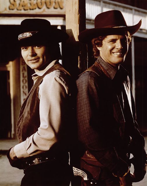 Alias Smith and Jones.   Probably the last of the great TV westerns -what happened to them?