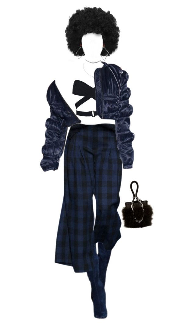 """Baby afro punk👻"" by noaesc ❤ liked on Polyvore featuring Alaïa, Cartier and Alexander Wang"