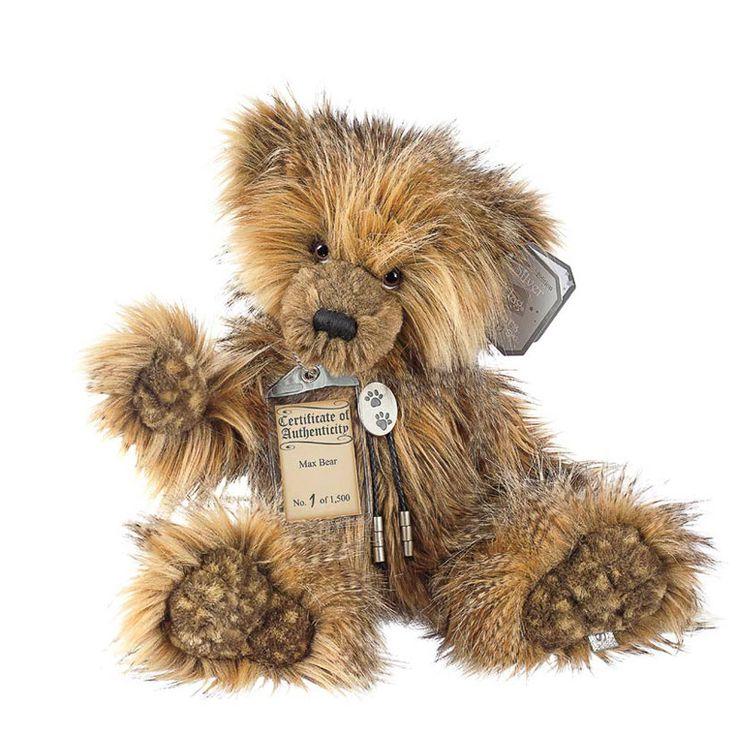 Suki Teddy Bear Max - Silver Tag Bear - Collection 4