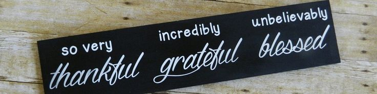 #thankful #grateful #blessed #woodsigns