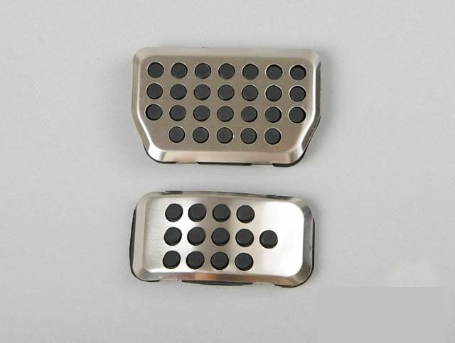 Find More Pedals Information about Car Pedal Pads Cover Stainless Steel for Ford…