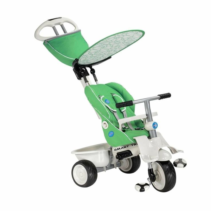 Amazon Com Smart Trike Recliner 4 In 1 Tricycle Green