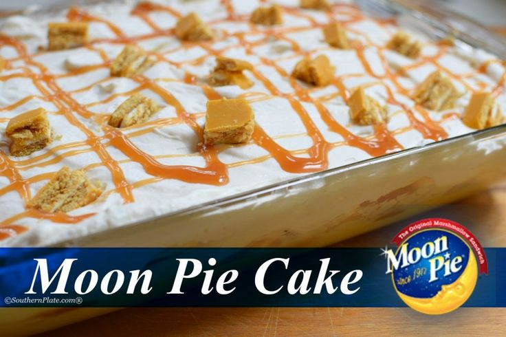 Moon Pie Cake - and surprising Jeff Foxworthy