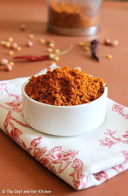 Multi purpose Spice Powder for SOUTH INDIAN CURRIES - http://www.pincookie.com/multi-purpose-spice-powder-for-south-indian-curries/