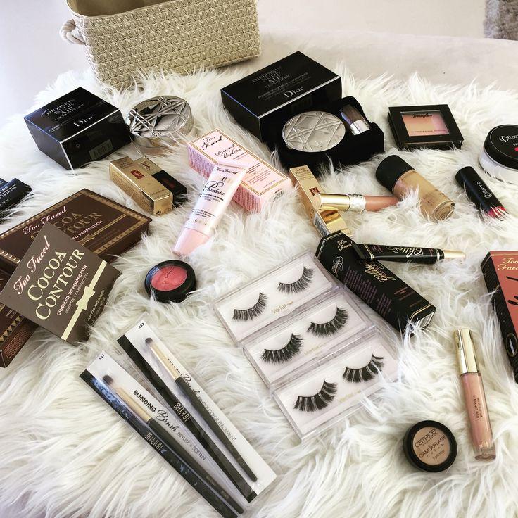 franci love, maquillaje de la marca, Mac cosmetic, TOO FACED, DIOR,  Flormar.