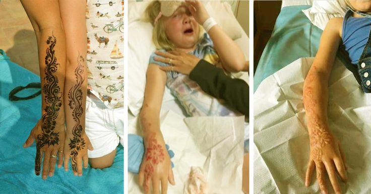 Un inocente tatuaje se convierte en una tragedia. Su madre quiere advertir a todos los padres