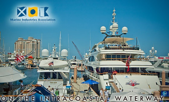 Palm Beach International Boat Show 2013  March 21 - 24, 2013  Palm Beach, Florida  #boatshows