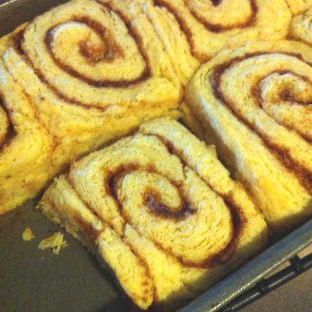 Biscuit cinnamon rolls > regular cinnamon rolls. No icing needed!