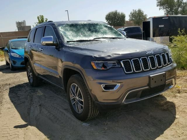 Salvage 2018 Jeep Grand Cherokee Limited With Images Jeep