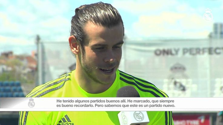 Real Madrid  Gareth Bale: The most important thing will be scoring in Manchester