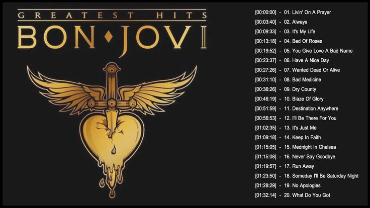 Bon Jovi Greatest Hits Full Album 2017 | Top 30 Best Songs Of Bon Jovi - YouTube