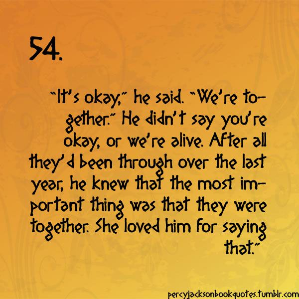 Percy Jackson Quotes - hysterically sobbing!