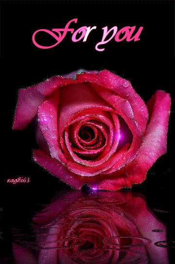 For You... flowers animated rose hello friend comment good morning good day greeting beautiful day for you
