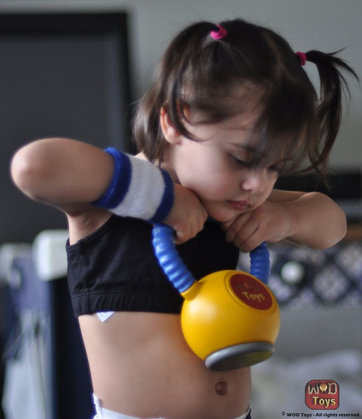 """Crossfit """"equipment"""" for kids - I need to get this for Lennon!!!"""