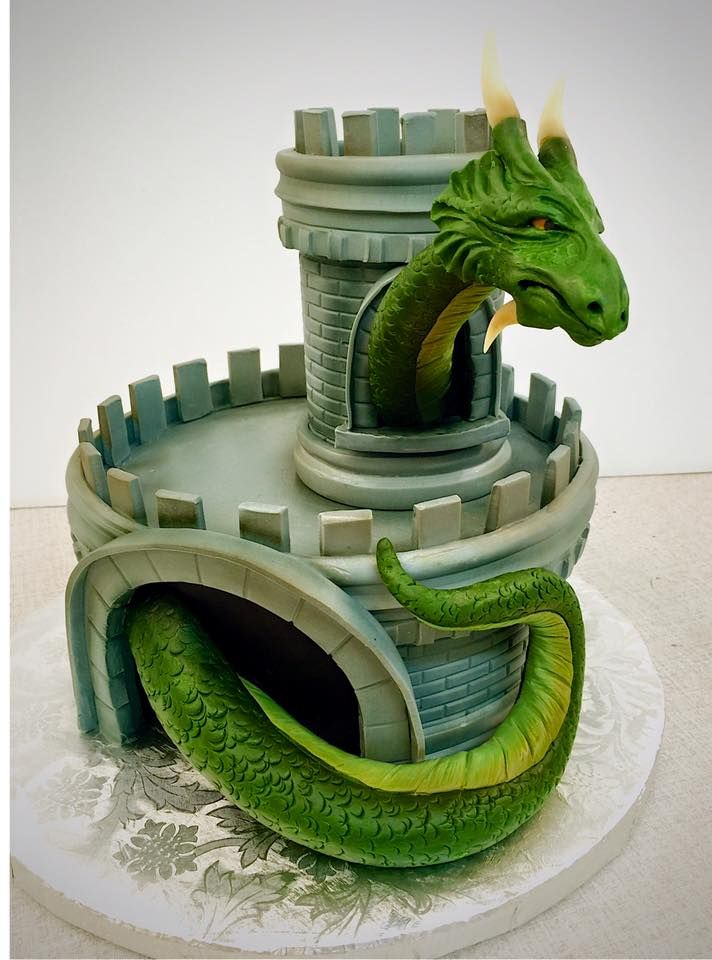 Mike's Amazing Cakes - Dragon Castle Cake ...