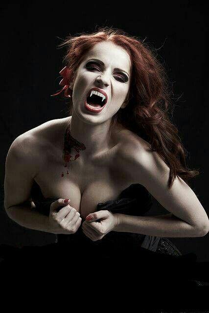 Vampire. Vampires. Redheaded vampiress