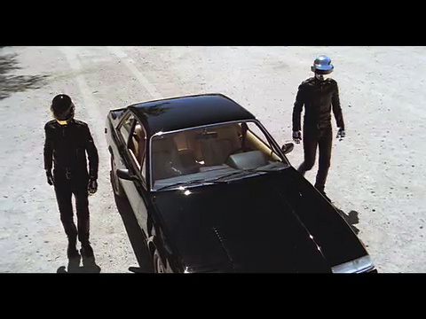 1987 Ferrari 412i that was used in the 2006 feature-length silent film, Electroma, directed by and starring the French electronic music duo, Daft Punk
