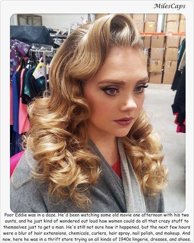 Pinterest Crossdresser Makeover