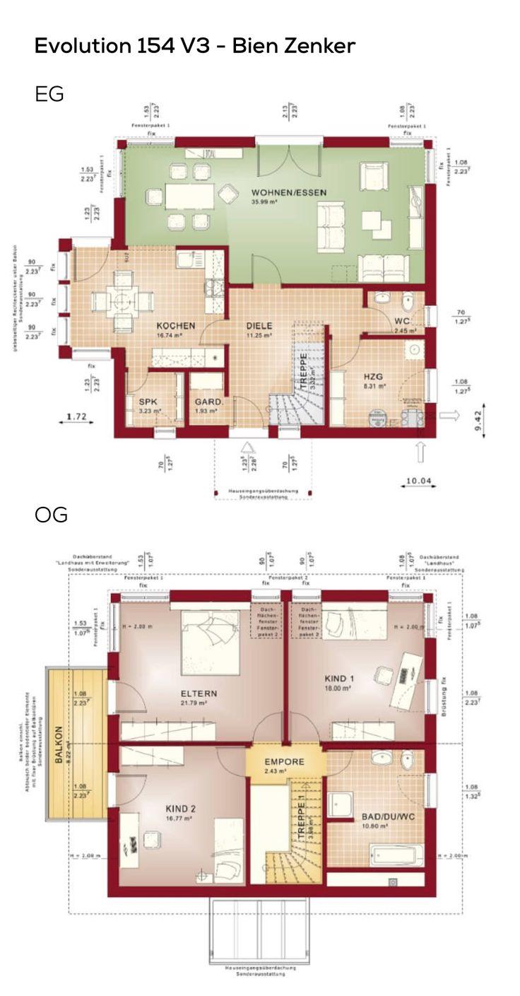 Architektur Grundriss 159 best grundriss einfamilienhaus images on