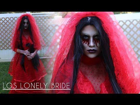 Halloween Makeup Tutorial: Los Lonely Bride #halloween #makeup