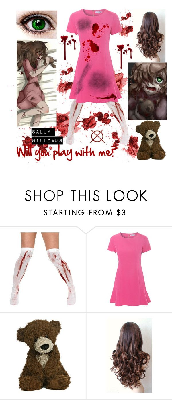 """""""Sally Williams Creepypasta Outfit"""" by brendon-urie-enthusiast ❤ liked on Polyvore featuring Alice & You"""