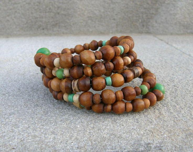 Holzspiralarmband von SonnenRegen auf DaWanda.com