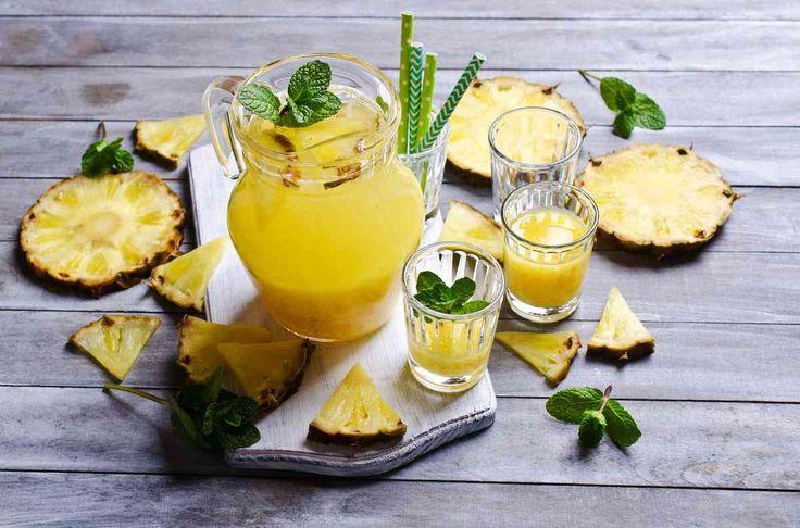 Succo di ananas, limone e zenzero: dimagrire e disintossicarsi