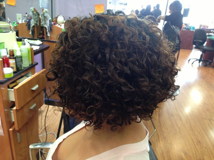After deva cut and style