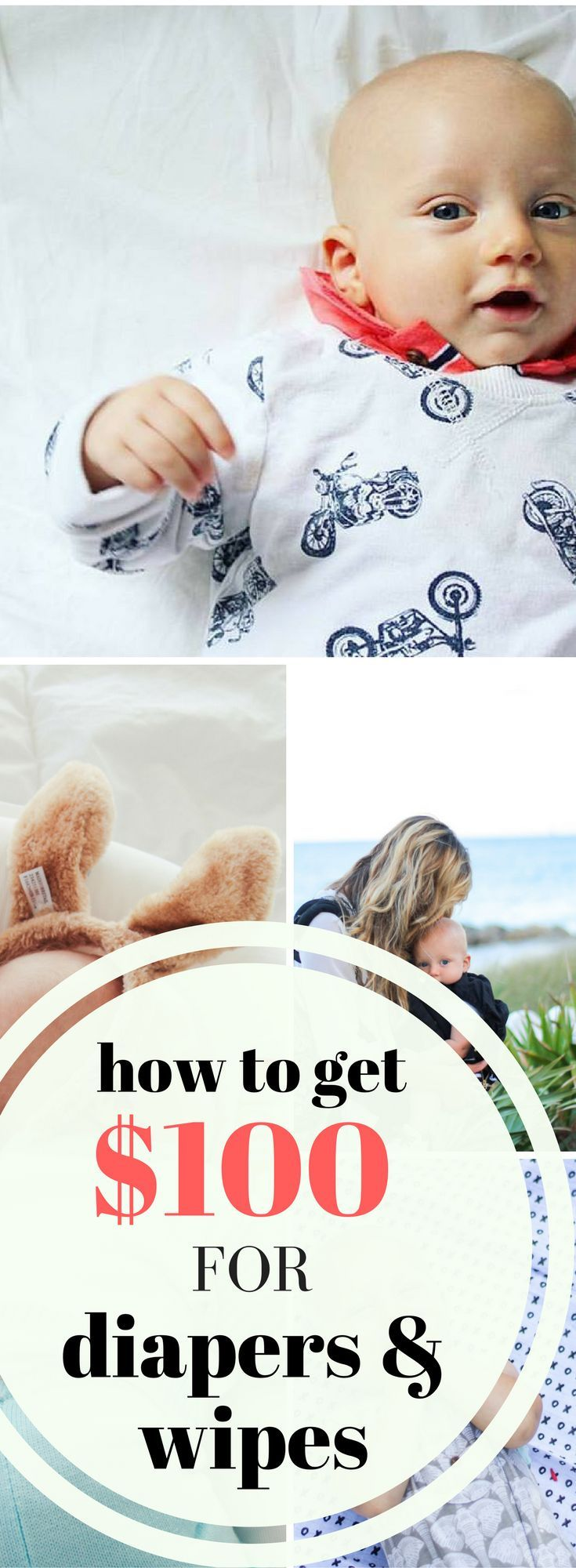If you are expecting a baby, here's how you can get $100 towards diapers and wipes, as well as the items I ended up buying, when I wish I put them on my registry!