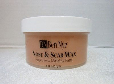 Ben Nye Nose and Scar Wax is the perfect material for making cuts, bullet wounds, broken noses and many other special fx. Nose and Scar Wax is soft and pliable yet firm enough to sculpt detailed wound