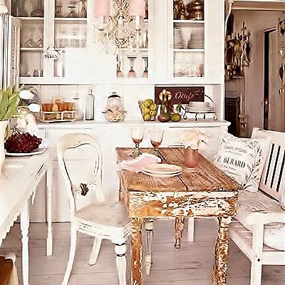 romantic country kitchen decorating pinterest