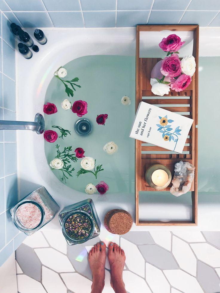 Bath Rituals + My Go-To Bath Salt Blend + Body Oil Recipes