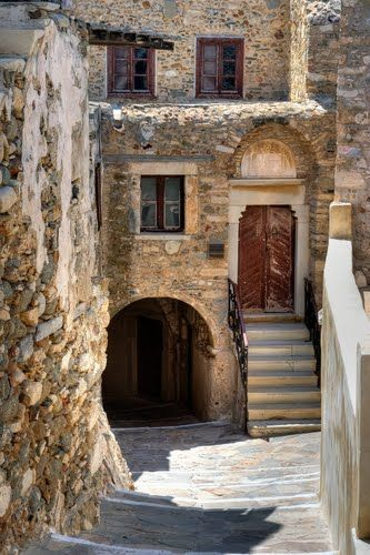 Naxos Town, Naxos island, Greece