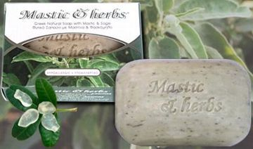 Σαπούνι Mastic and Herbs με μαστίχα και φασκόμηλο.