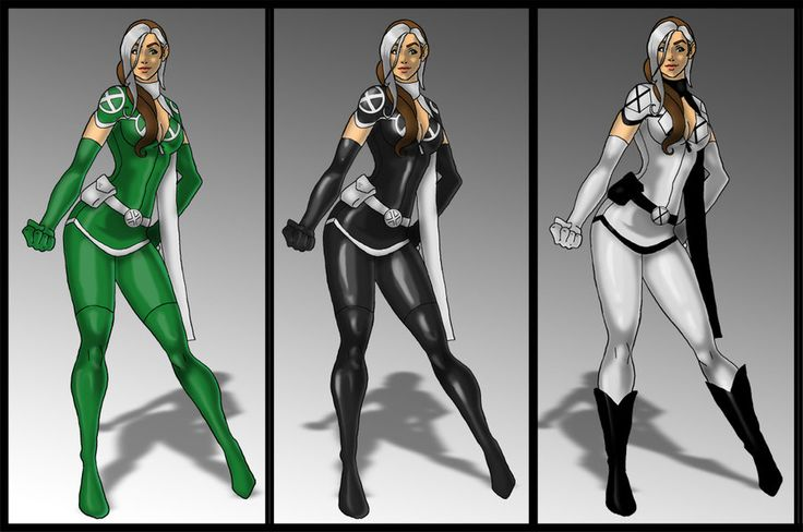 Rogue costume variants by  skyboy16 on deviantARTX Men Rogue Costume Ideas