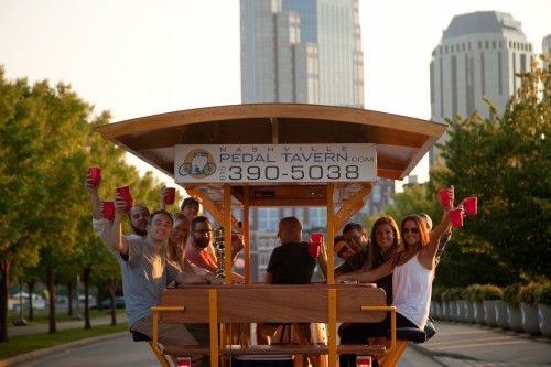 Nashville Pedal Tavern... another FUN thing to do in #Nashville!