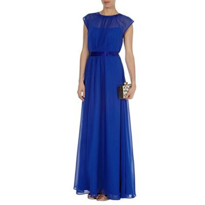 Ionia maxi dress cobalt blue