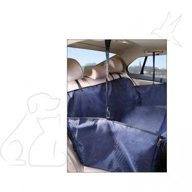 Este cobertor trasero para auto con borde lateral es el accesorio para perros ideal para los desplazamientos en auto con tu regalón. Protege los asientos del auto de suciedad y los pelos de tu mascota. Provisto de cierre que permite descolgar una parte para liberar una parte del asiento trasero y permitir que un pasajero vaya sentado detrás.  www.bestforpets.cl